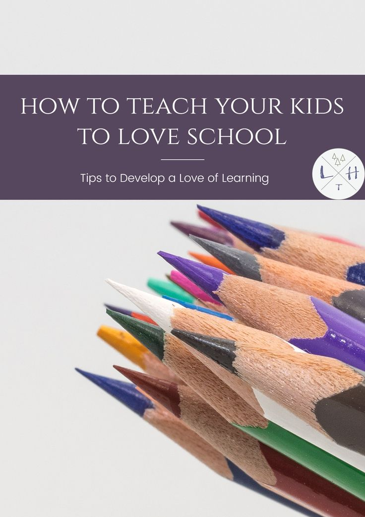 Showing your kids how to come to love going to school is a difficult and challenging job but one that should be important in every family.  via @lavenderhytta