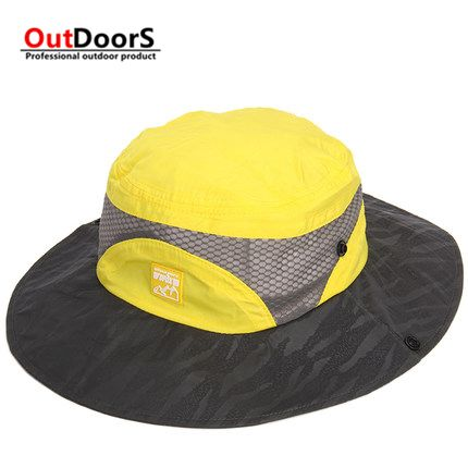 Shipping Free patchwork Fishing hat outdoor sun shade hat mountaineering hat men hat Ben Nepal