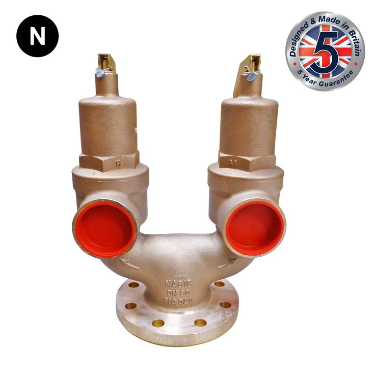Nabic Fig 520 High Lift Double Spring Safety Valve