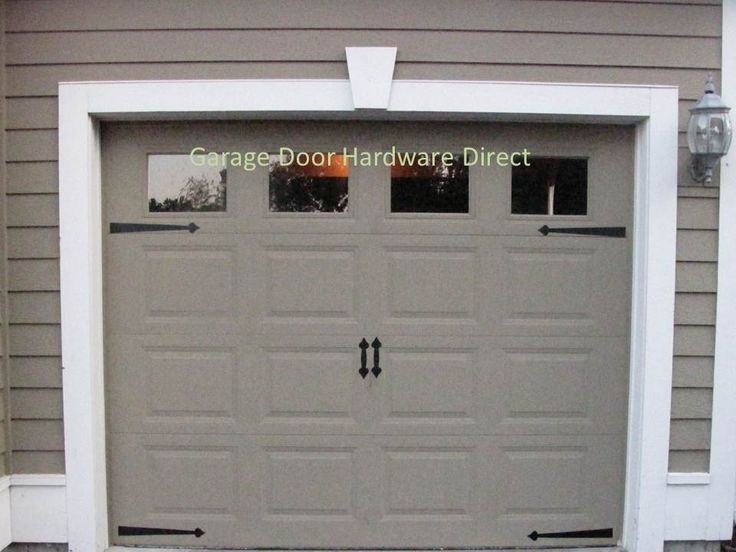 garage door kit7 best Garage door accents images on Pinterest  Garage ideas