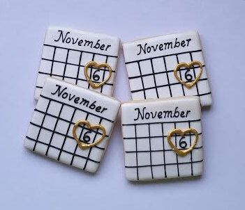Save the date cookies, Engagement cookies , Bridal Shower cookies 1 Dozen by Scookies on Etsy https://www.etsy.com/listing/264156219/save-the-date-cookies-engagement-cookies