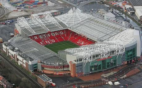 old trafford, been here to watch birmingham play manchester united and a couple of england games