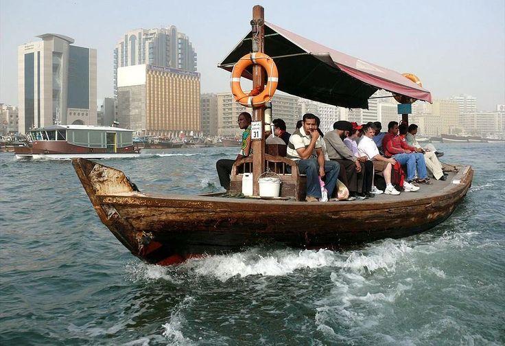 Dubai Abra Boat