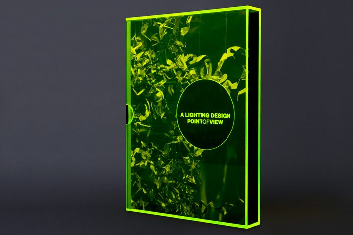 graphic design inspiration - book design with an acrylic slip case