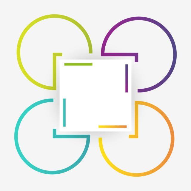 الحدود مع أربعة أشكال دائرية مجردة فن شكل فريم Png والمتجهات للتحميل مجانا Paper Background Design Bullet Journal Inspiration Background Design
