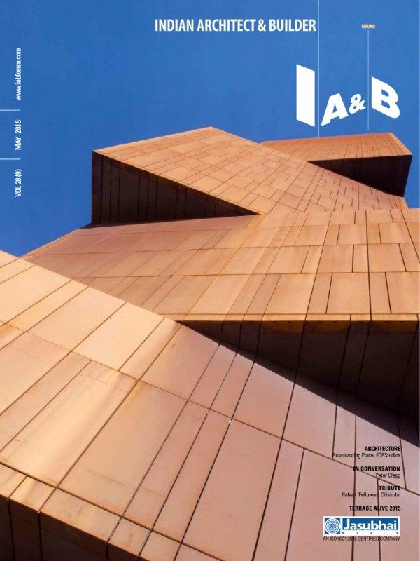 Indian Architect U0026 Builder Publishes One More Magazine Issue In The Month  Of #May2015Issue