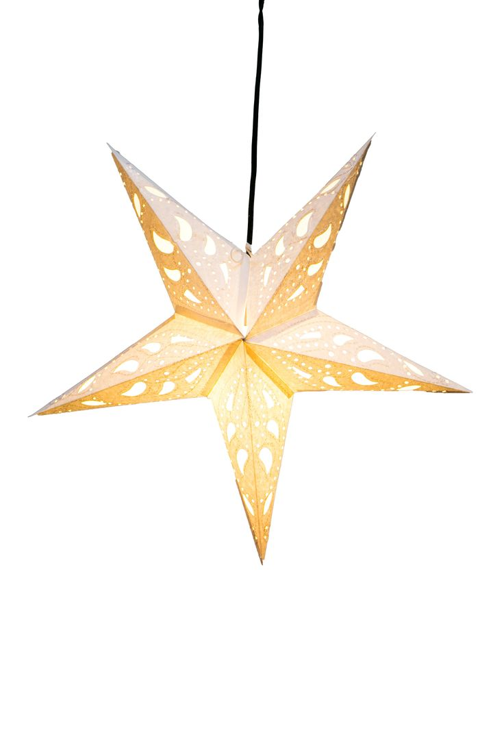 Paper stars how to make 5 pointed 3 d craft thyme - Paper Star Lantern Wandering Star