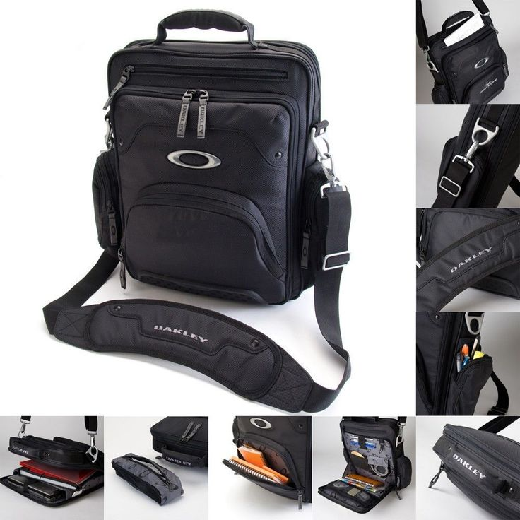 oakley white sunglasses bag  brand new oakley vertical 15\ laptop / macbook pro black messenger bag # oakley #