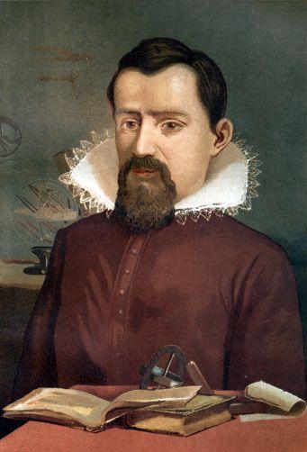 Johannes Kepler Portrait Of Johannes Kepler 15711630 Astronomer Chromolithography After La Ciencia Y Sus Hombres By Louis Figuier 1881 Barcelona Spain Fine art 118154705 | Getty Images