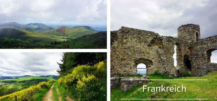 Die schönsten Regionen für eure Frankreich Aktivreise: Wandern und Mountainbiken in den Auvergne-Rhône-Alpes und dem Departement Loire.