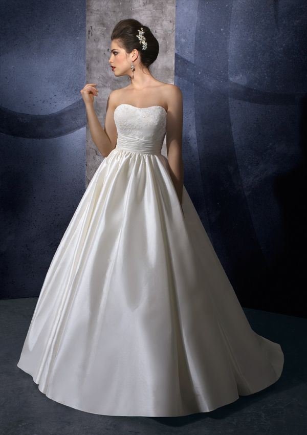 :)Training, Dresses Wedding, Wedding Dressses, Ball Gowns Wedding, Taffeta Wedding Dresses, Strapless Dress, Bridal Gowns, Mori Lee, Ball Gown Wedding