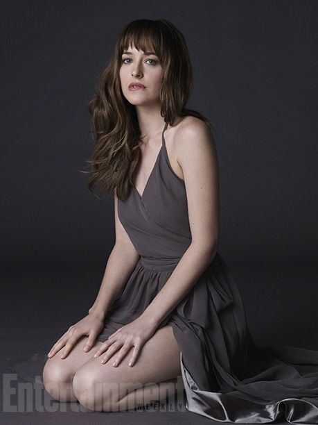 Dakota Johnson is Anastasia Steele in the upcoming Fifty Shades of Grey film. Not sure if I'm sold yet.
