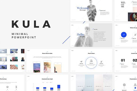 KULA Powerpoint Template by ShapeSlide on @creativemarket