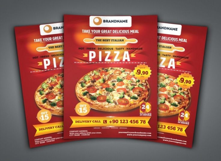 20 best Pizza Menu Template – PSD, InDesign and EPS Format images ...