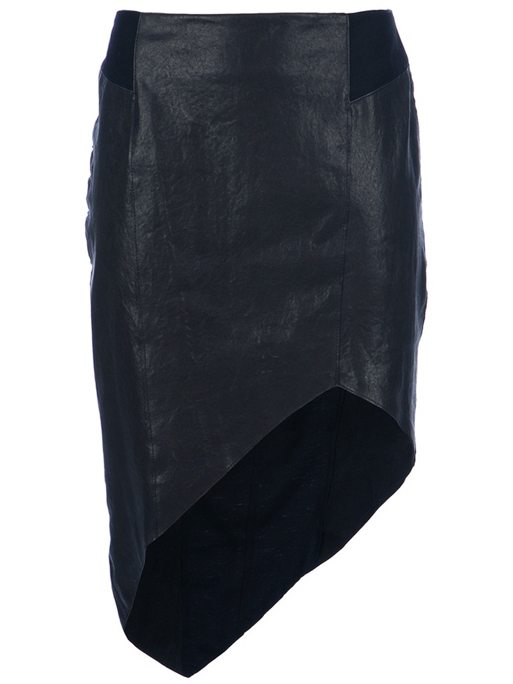 @HELMUT LANG Petrol Skirt - I have a less expensive version of this.  Fab skirt!