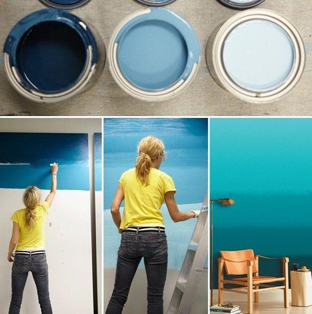Die Besten 25+ Putz Streichen Ideen Auf Pinterest | Streichputz ... Wohnzimmer Blau Streichen