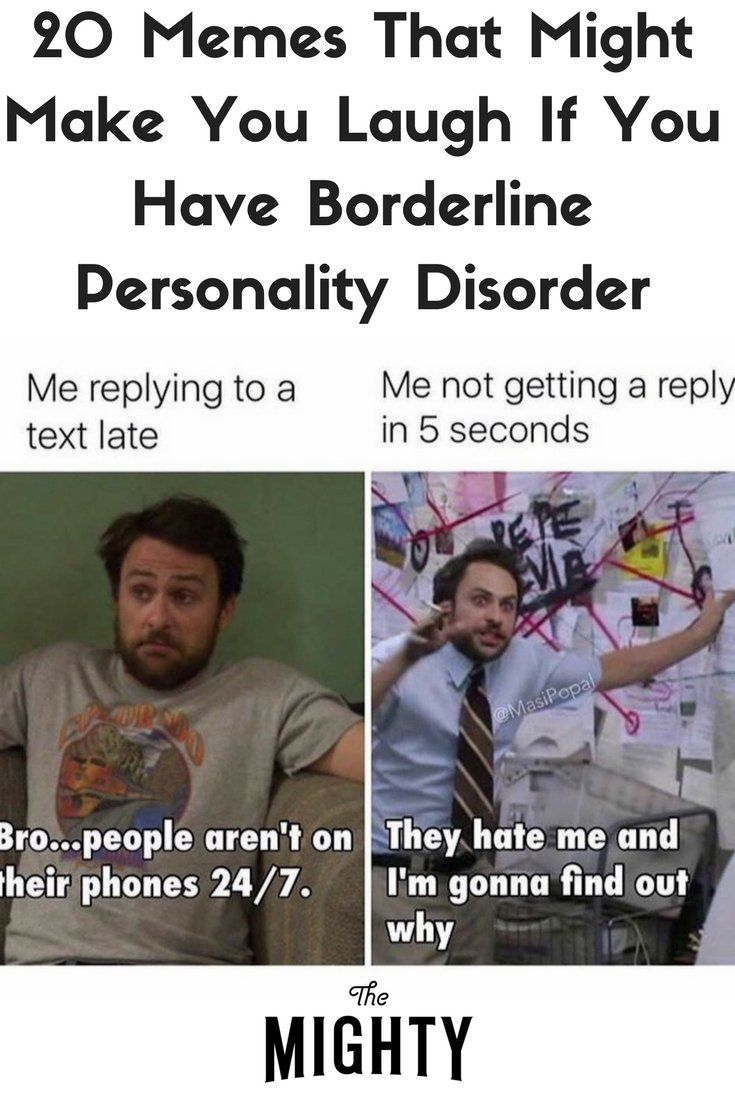 Funny Memes for People With Borderline Personality Disorder | The Mighty