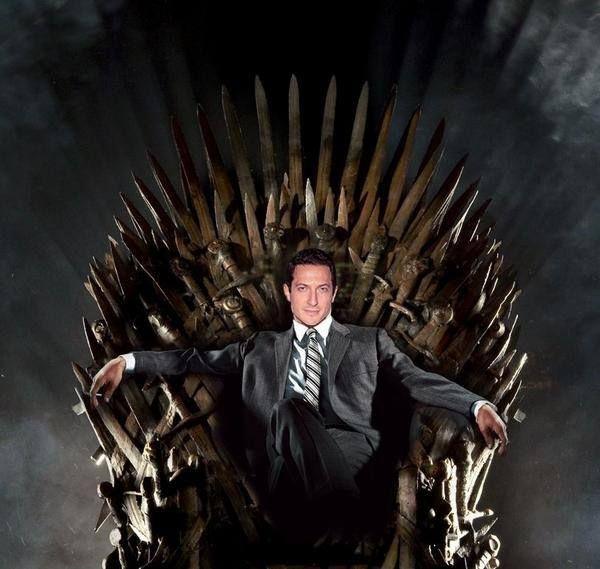 Sasha roiz captain sean renard in nbc 39 s grimm in the for Buy iron throne chair