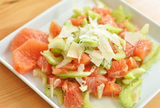 Celery and Grapefruit Salad with Parmesan — Recipes from The Kitchn