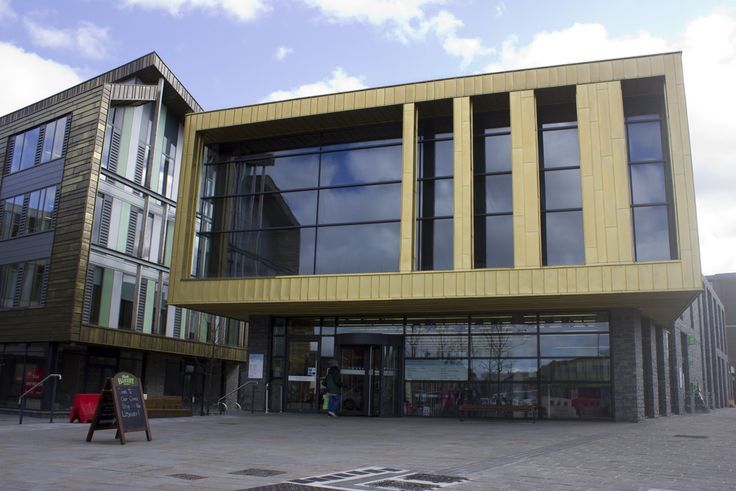 The Keynsham Civic Centre was built as the centre piece of a regeneration plan in the heart of the Somerset town #Sustainable architecture