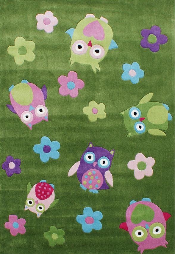 Happy Rugs w Limango - dywan do pokoju dziecięcego w sowy
