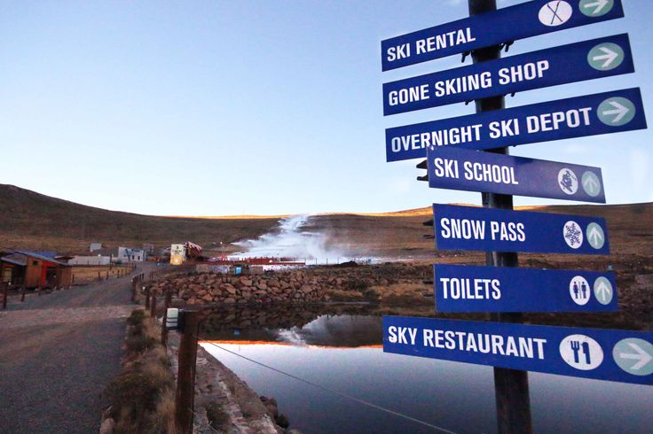 Just some of the sports and entertainment options at Afriski Mountain Resort in Lesotho. Photo by snowmaker, Jason May