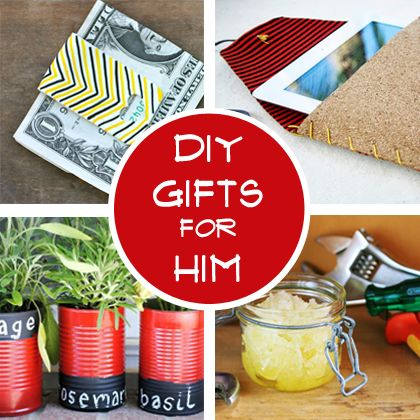 Diy gifts for him a handsome handmade holiday simple for Simple homemade birthday gifts