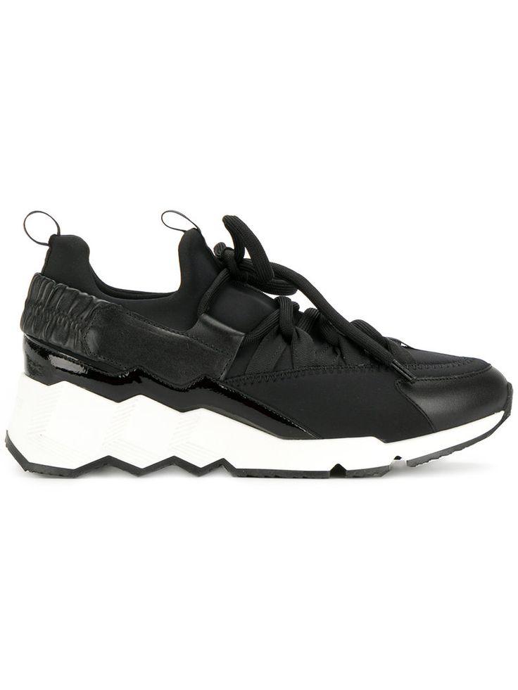PIERRE HARDY PIERRE HARDY - CONTRAST SOLE SNEAKERS . #pierrehardy #shoes #