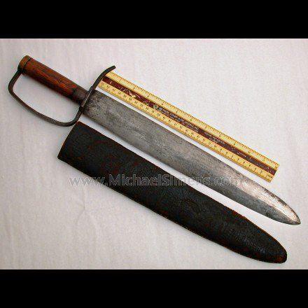 CONFEDERATE BOWIE KNIFE  FOR SALE - ANTIQUE BOWIE KNIFE APPRAISER