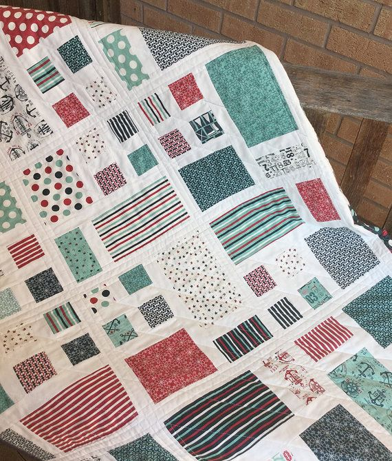 A beginner friendly PDF quilt pattern. It uses one or more pre-cut Layer Cakes (depending on the size of quilt you make) and a background fabric
