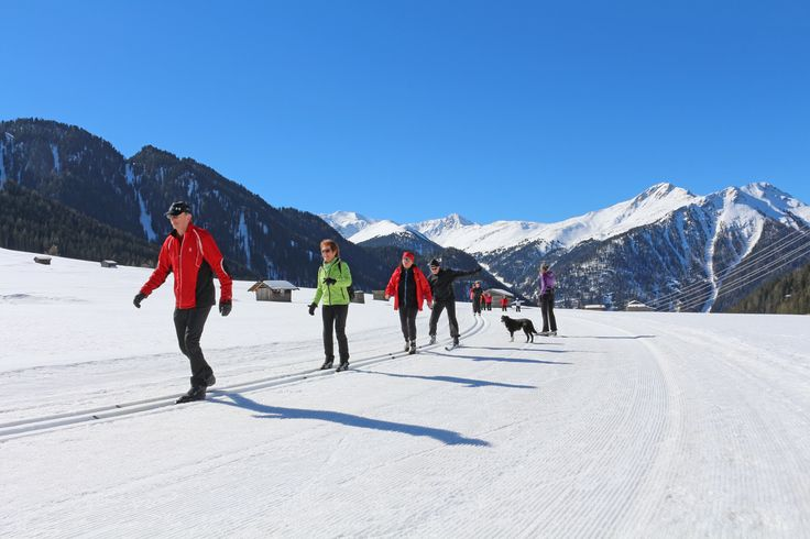 #Langlaufen #Winter #Schnee #Tschey #tiroleroberland (c) Kurt Kirschner