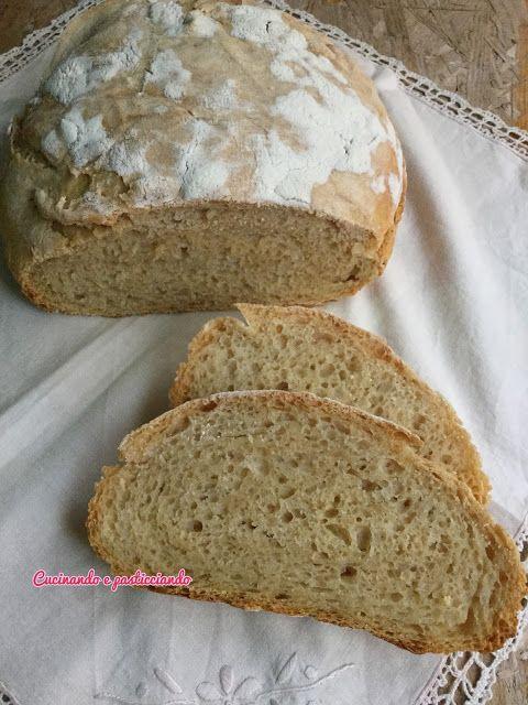 Cucinando e Pasticciando: Pane senza impasto con lievito madre