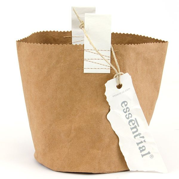 Round washable paper storage bag | Between Dog and Wolf