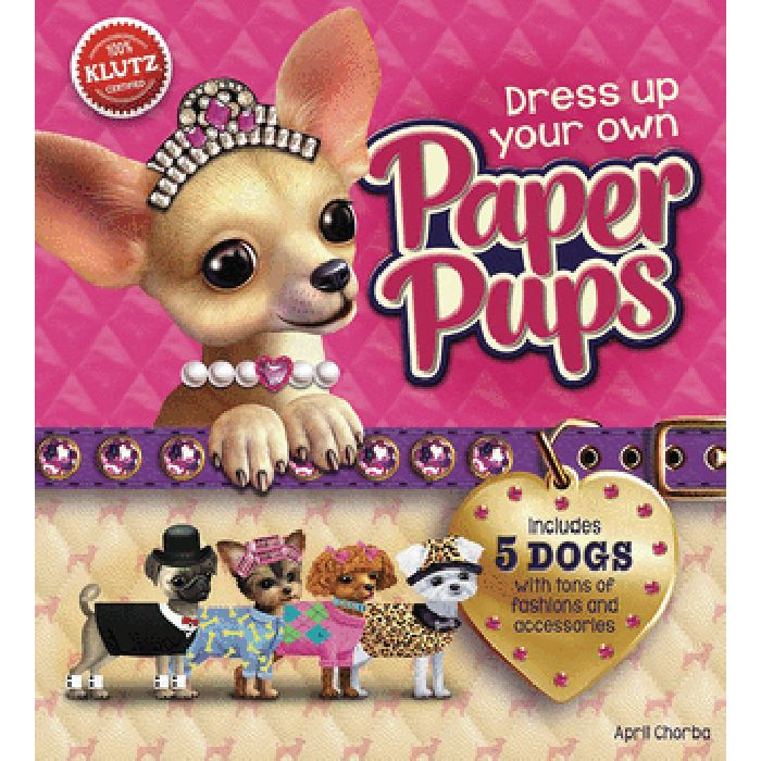 Dress Up Your Own Paper Pups | April Chorba
