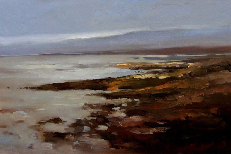 Roundstone Coast by Andrzej Gudanski on ArtClick.ie Galway Ireland Landscape Art