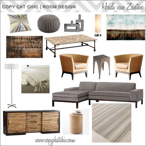Heidi Van Zanten: Copy Cat, Room Designs, Living Room, Room Redos, Cat Chic