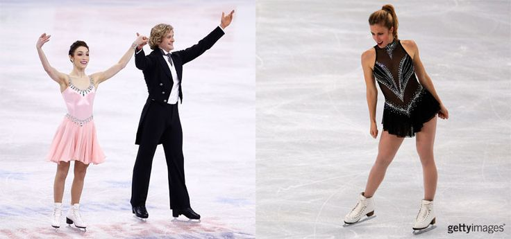 Meryl Davis and Charlie White (ice dance) and Ashley Wagner (ladies) will compete for Team USA in the short program skates of the team event