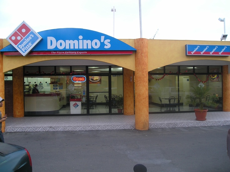 Domino's store in Guatemala City, Guatemala.