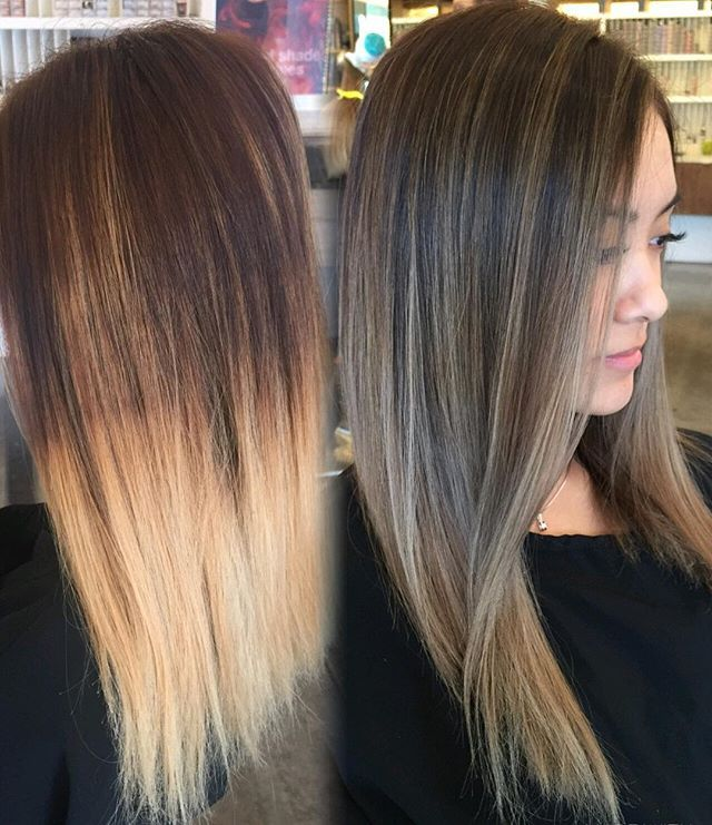 Gorgeous Warm Brown Color Melt To Fresh Blonde Ends Of 29