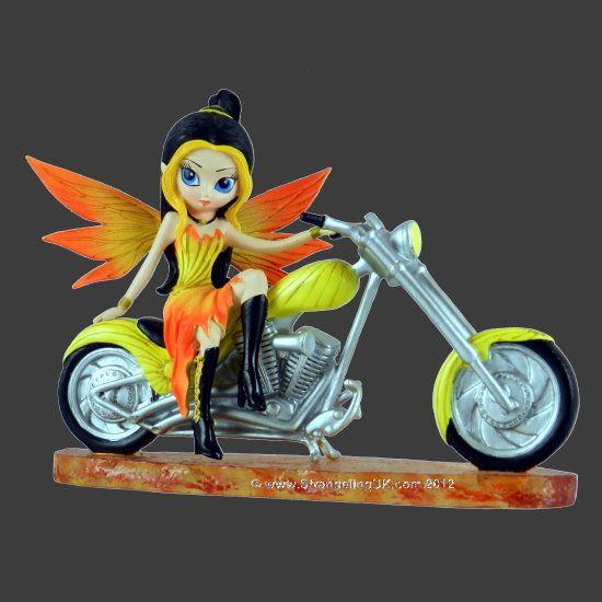 Fadinha-motoqueira do fogo.