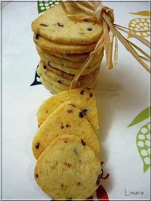 Limara péksége: Hagymás-rozmaringos keksz