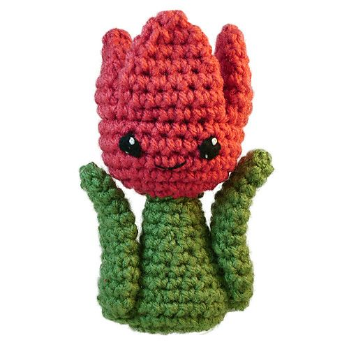 Amigurumi Tulip - FREE Crochet Pattern / Tutorial