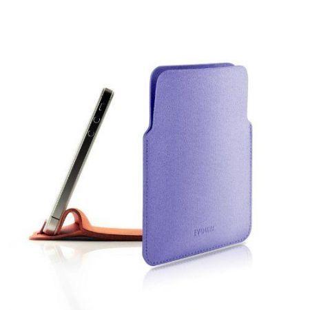 Oryginalne etui z mikrofibry Evouni Nano Stand Pouch - fioletowe - iPhone 4/ 4S / 5