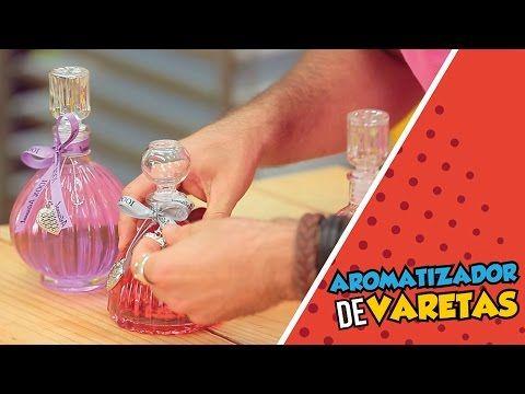 Um aroma agradável torna qualquer ambiente muito mais aconchegante. Nesse vídeo você aprende de uma forma rápida e prática a fazer o seu aromatizador de vare...