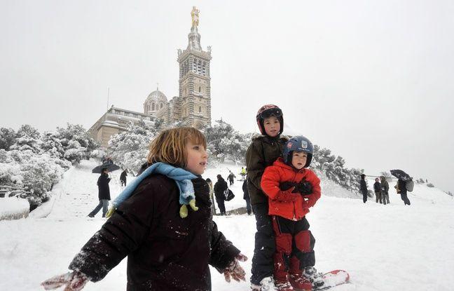 Météo: Il va peut-être neiger à Marseille (mais pas que)