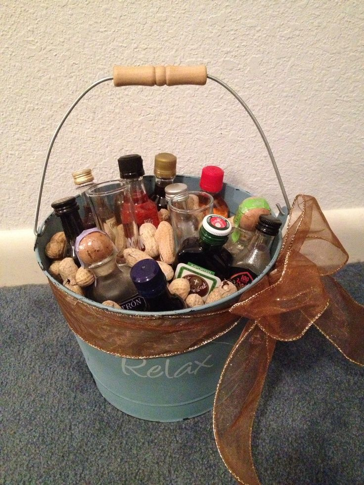 1000 Ideas About Mini Alcohol Bouquet On Pinterest