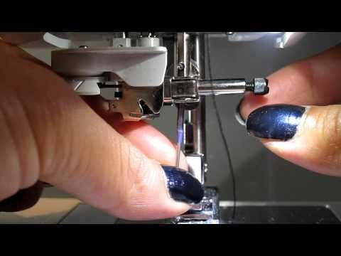 How to change the needle on a Brother Sewing Machine