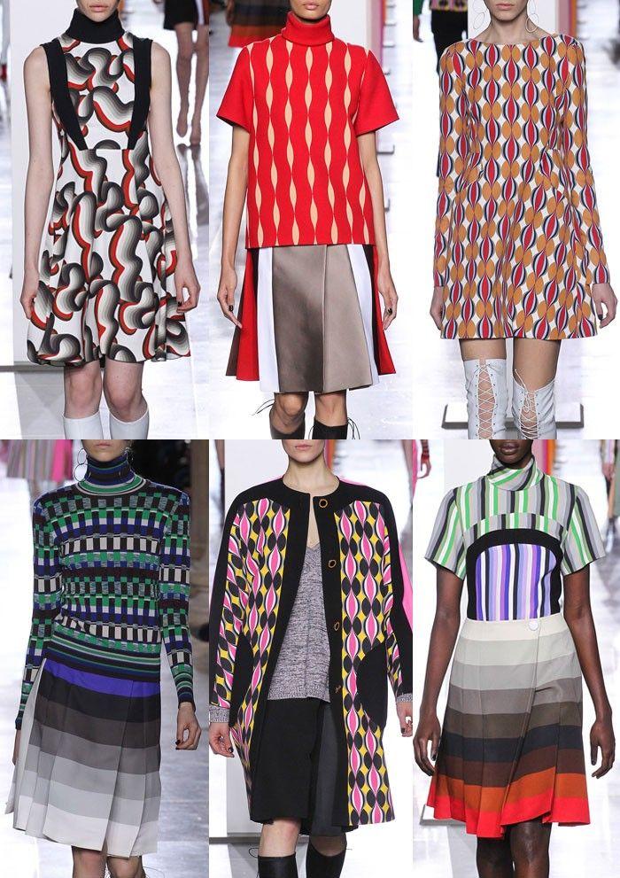 London Fashion Week Womenswear Print Highlights Part 2 – A/W 15/16