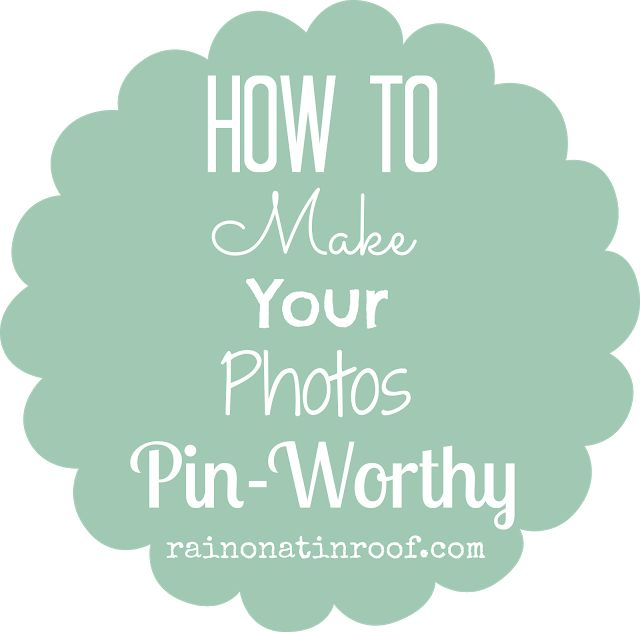 """Rain on a Tin Roof: How to Make Your Photos """"Pin-Worthy"""" with PicMonkey & A GIVEAWAY!"""
