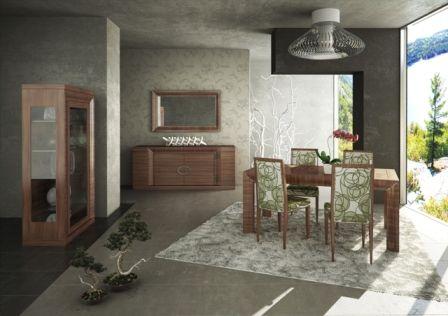 Casa Ampia-τραπεζαρία Wave-τραπέζι-καρέκλα-μπουφές-βιτρίνα-dining room-έπιπλα-διακόσμηση σπιτιού-ιδέες και λύσεις